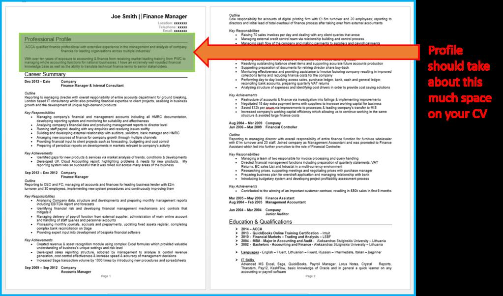 41 Best How Should My Cv Look for Pictures