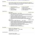 41 Nice Teacher Resume Template by Pics