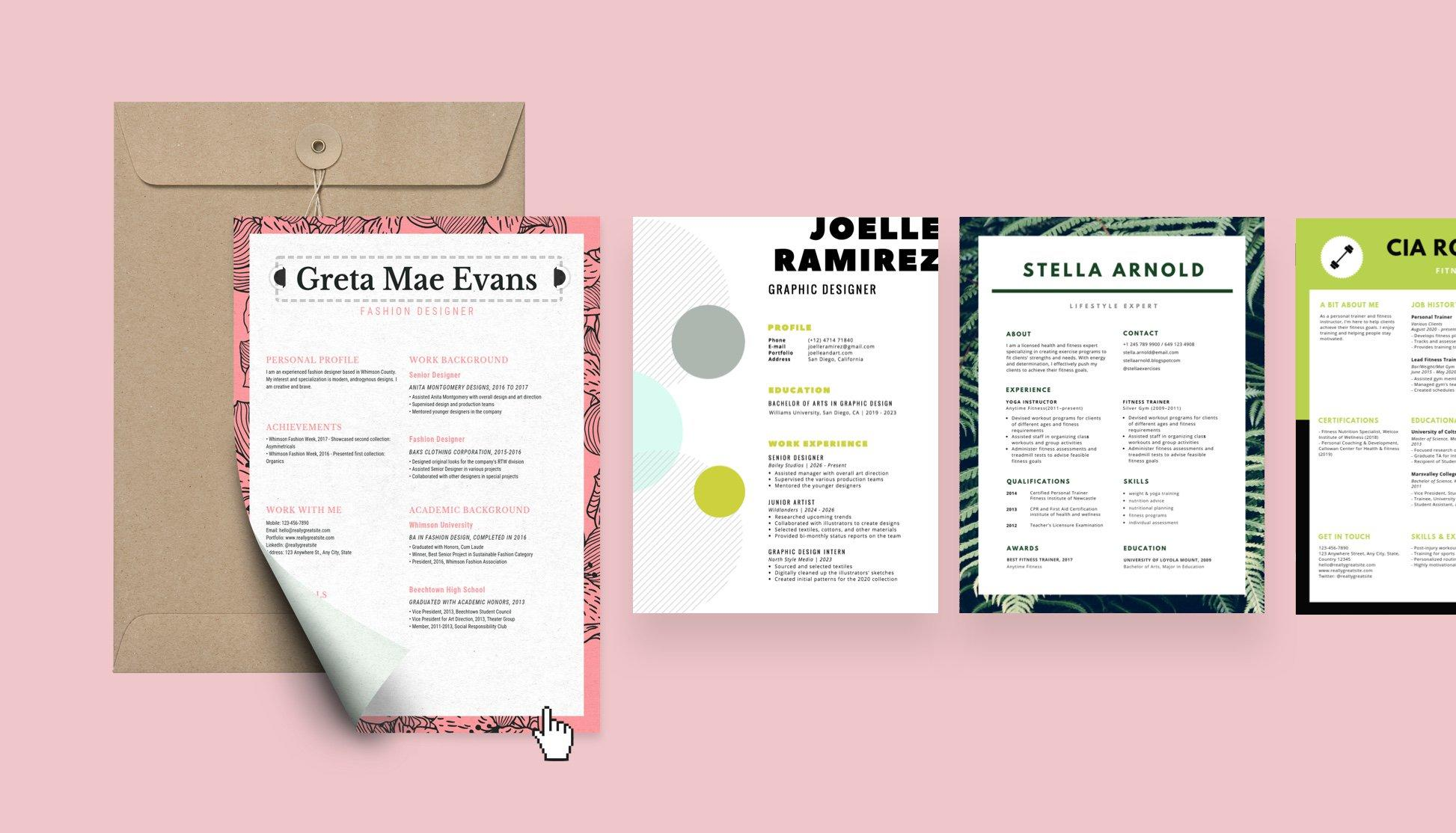 42 Best Make Me A Resume with Graphics