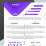 43 Beautiful One Page Cv Word Template by Gallery