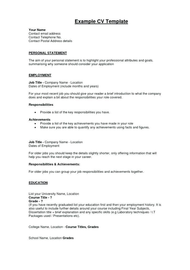 43 Cool Copy Of Resume For Job by Pics