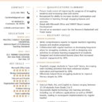44 Best Teacher Resume Template for Pics