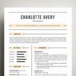 44 Excellent Cv Page Layout for Pics