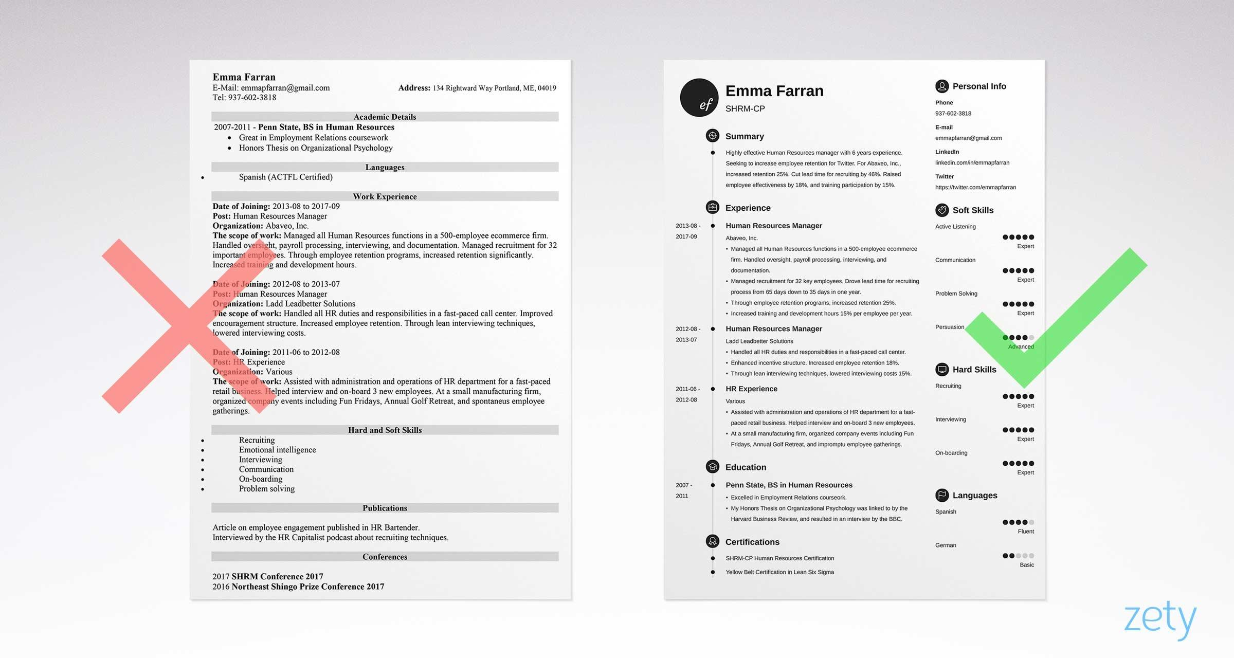 44 Lovely Graphic Resume Template by Images