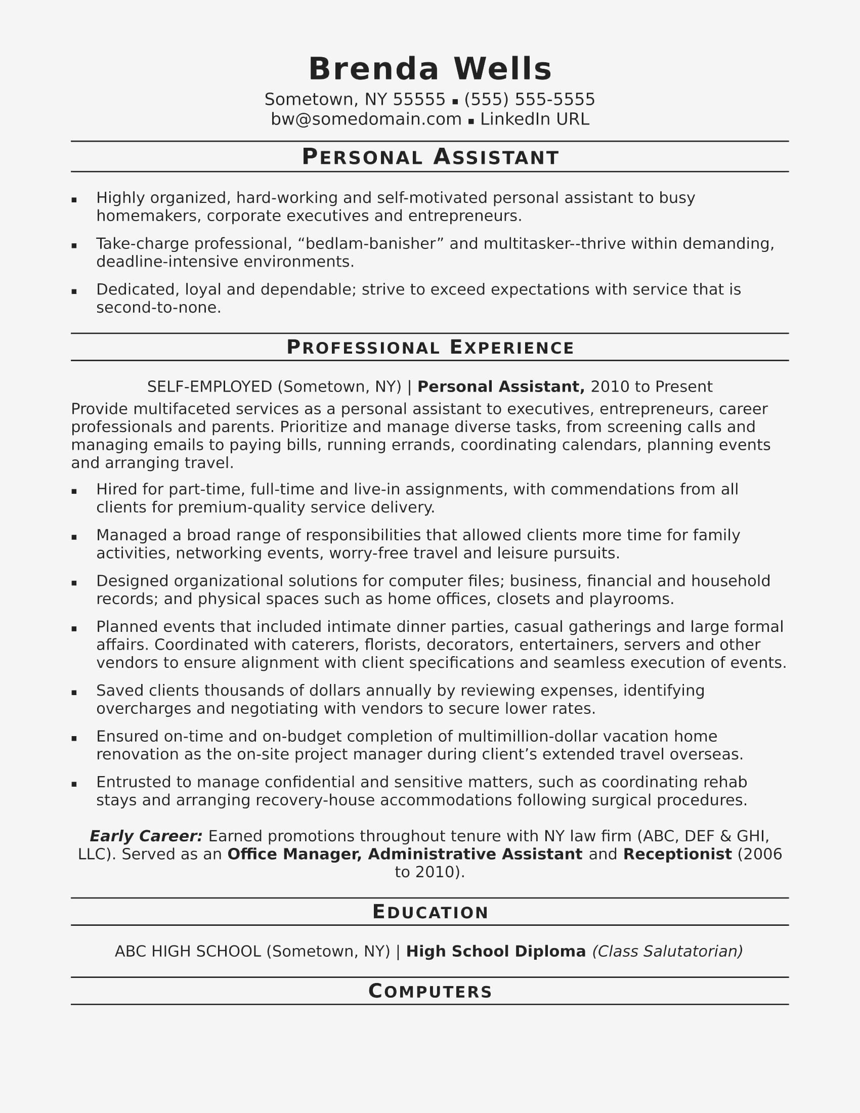 45 Inspirational Examples Of Resume Cover Letters For Administrative Assistants by Pics