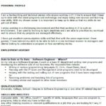 46 Cool Software Engineer Cv for Ideas