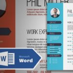 46 Excellent Resume Design Word by Pics