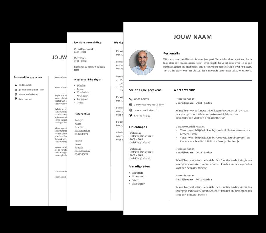 46 Fresh Cv Template Gratis with Design