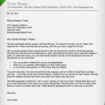46 Great A Cover Letter by Images