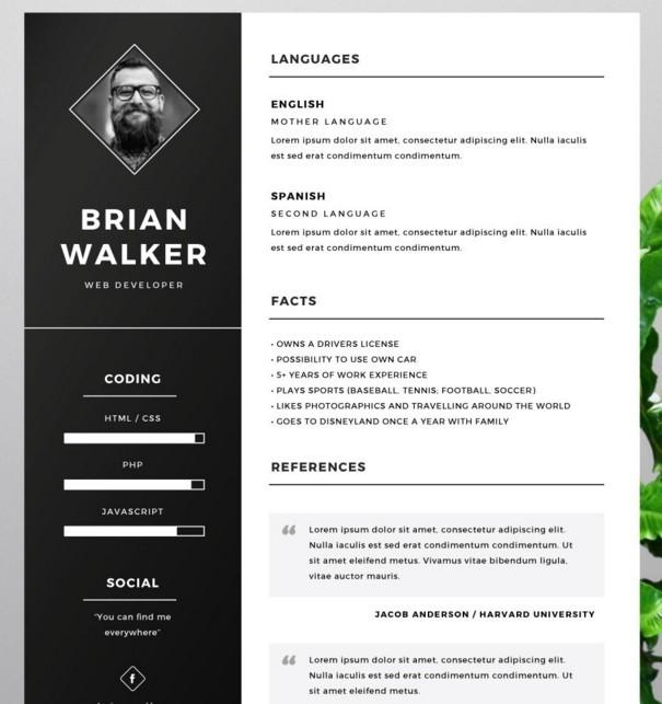 46 New Cv Template Gratis with Ideas