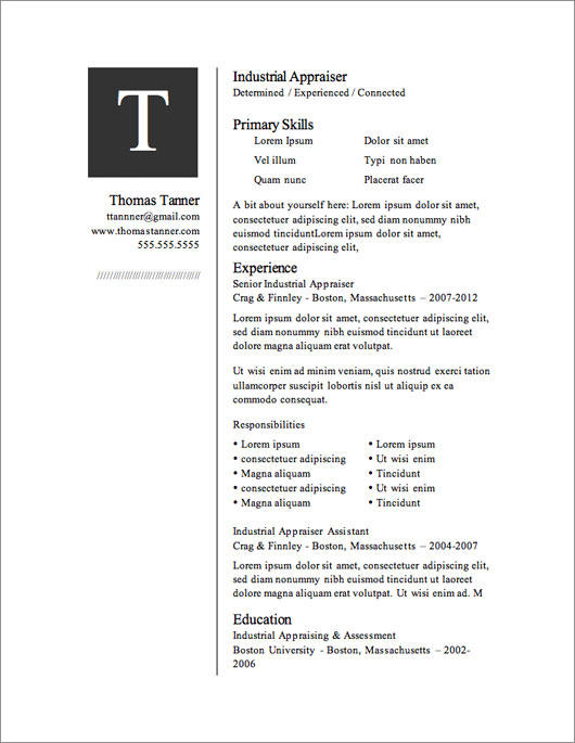 46 New Free Cv Template Download by Ideas