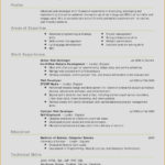 46 Nice Updated Resume Format by Gallery