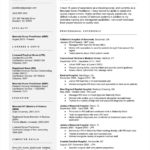 46 Stunning Experience Description Resume Examples by Ideas