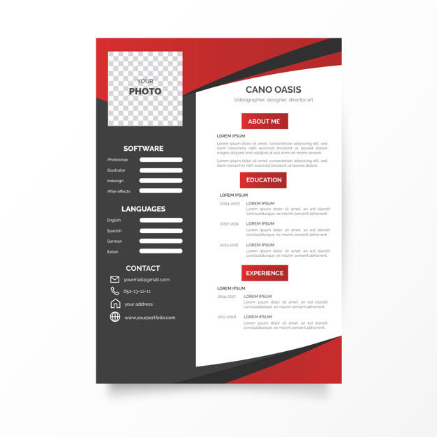 47 New Modern Curriculum Vitae for Design