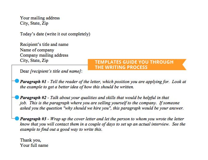 47 Nice Writing A Cover Letter Template by Gallery