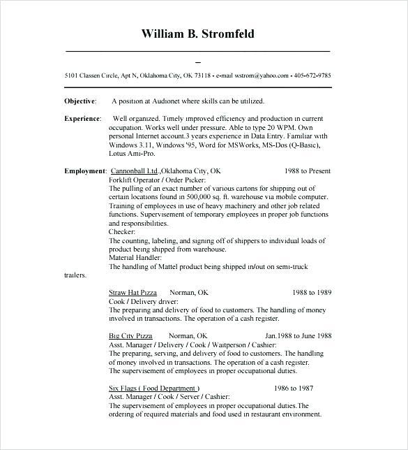 47 Stunning Entry Level Database Developer Resume for Gallery