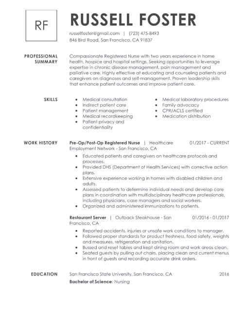 47 Top Best It Resume Format for Design