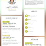 48 Awesome Online Resume Template with Pictures