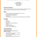 48 Best Beginner Job Application Resume Sample by Pictures