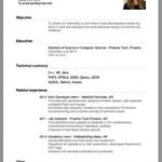48 Excellent Beginner Job Application Resume Sample for Ideas