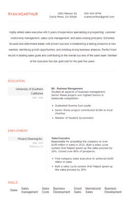 48 Great Free Resume Maker And Print for Images
