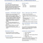 48 Great Sonographer Resume for Pics
