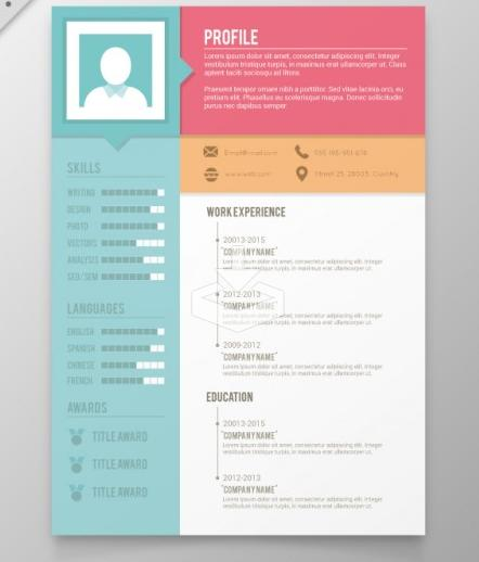 48 New Free Creative Resume Templates Microsoft Word with Images