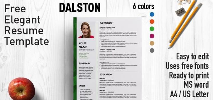 48 Stunning Ms Word Cv Template Free by Pictures