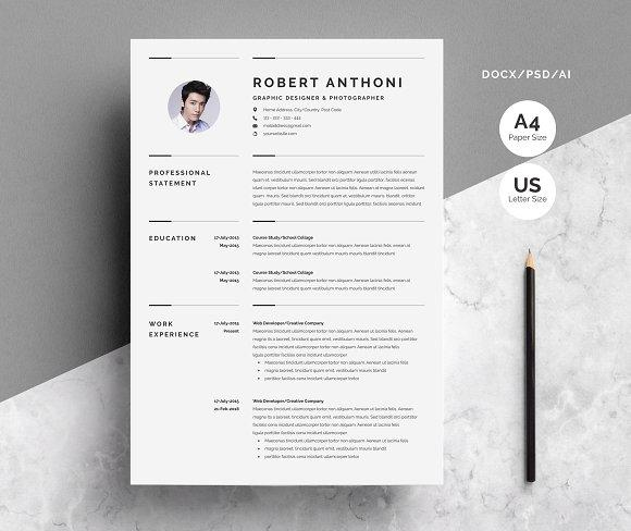 50 Great Pages Resume Templates by Pictures