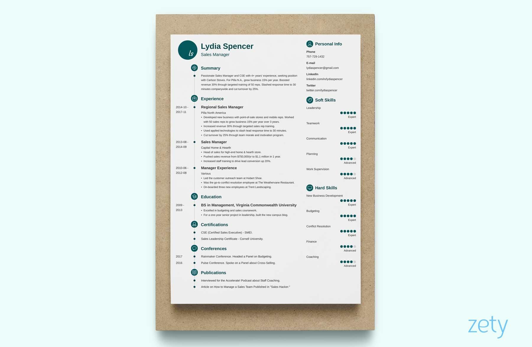 50 New Great Looking Resume Templates for Gallery