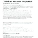 51 Awesome Experienced Teacher Resume Examples by Graphics