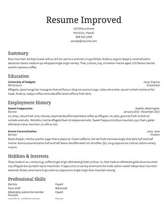 51 Excellent Make My Resume Online by Ideas