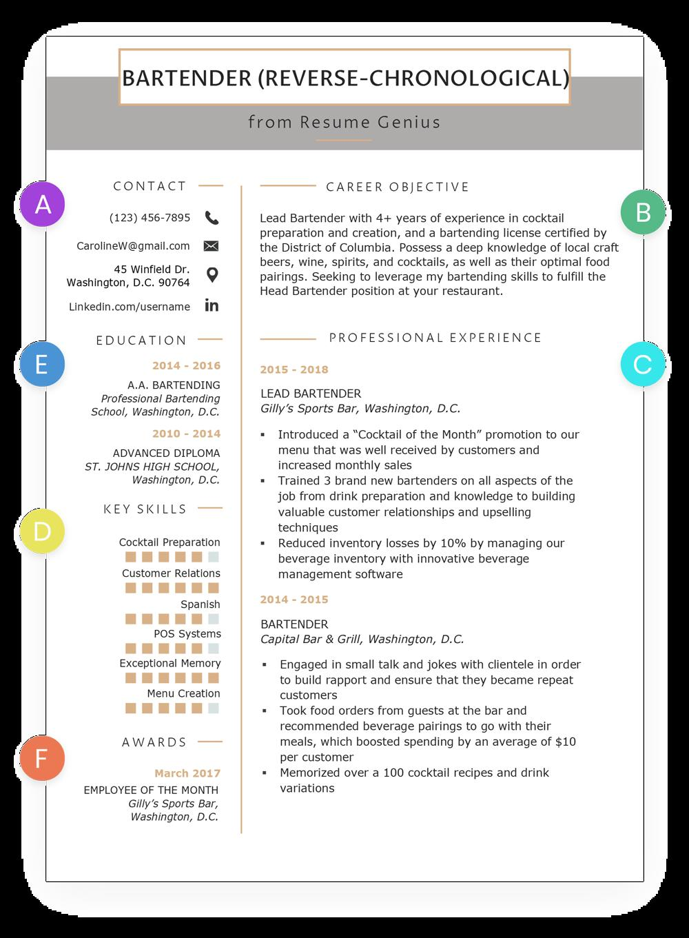 51 Top Resume Format Examples for Design