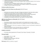 52 Excellent Experience Description Resume Examples for Pictures