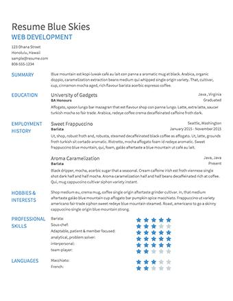52 Stunning Make Me A Resume Online Free by Images