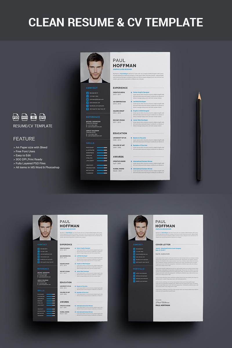 53 Great Free Creative Resume Templates Microsoft Word with Pictures
