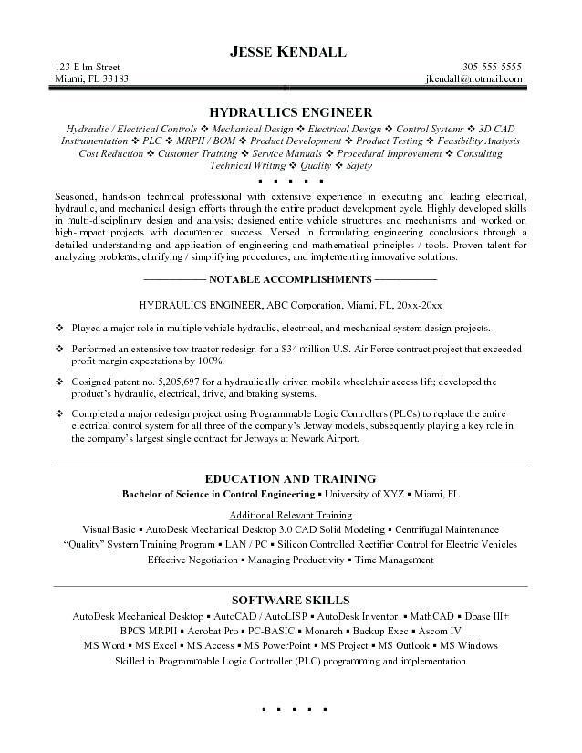 53 Inspirational Mechanical Engineer Resume Sample for Ideas