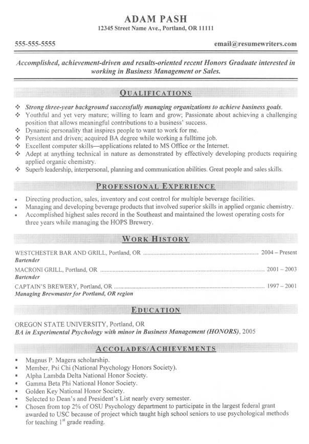 53 Top Good Resume Sample by Ideas