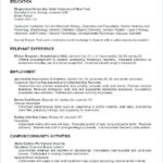 54 Excellent College Resume Examples with Pictures