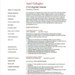 54 Great Civil Engineer Resume for Ideas