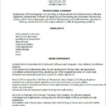 54 Great Software Engineer Summary Resume with Gallery