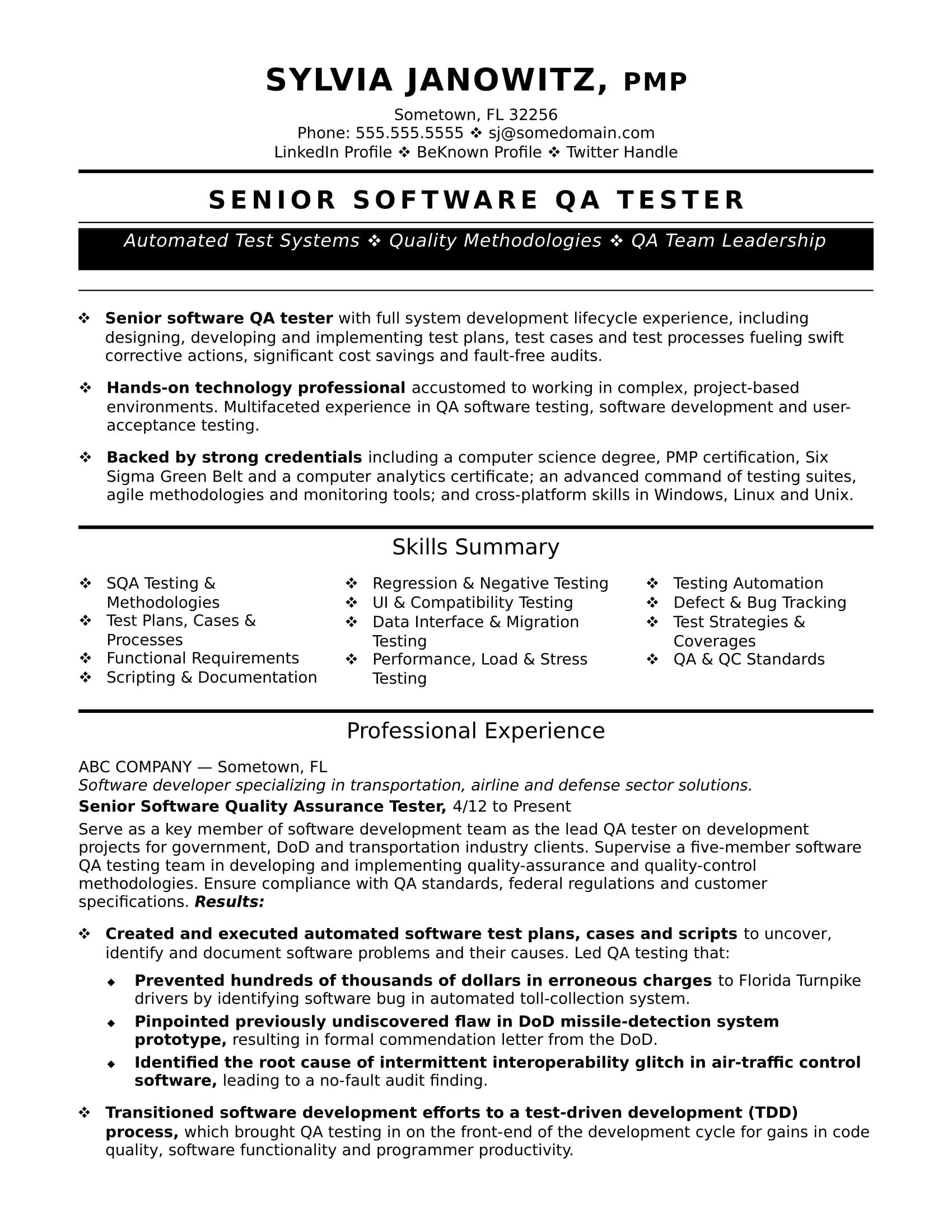 55 Awesome Automation Engineer Resume with Images