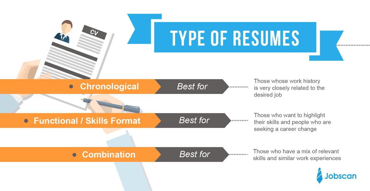 55 Excellent Resume Format Examples with Graphics