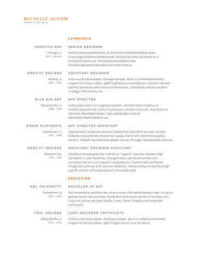 55 Excellent Where Can I Get Free Resume Templates by Gallery