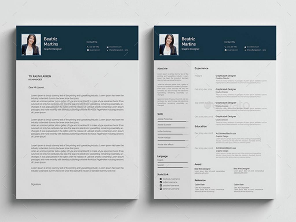 55 Nice The Best Free Resume Templates by Gallery