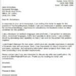 56 Awesome Business Cover Letter Sample by Images