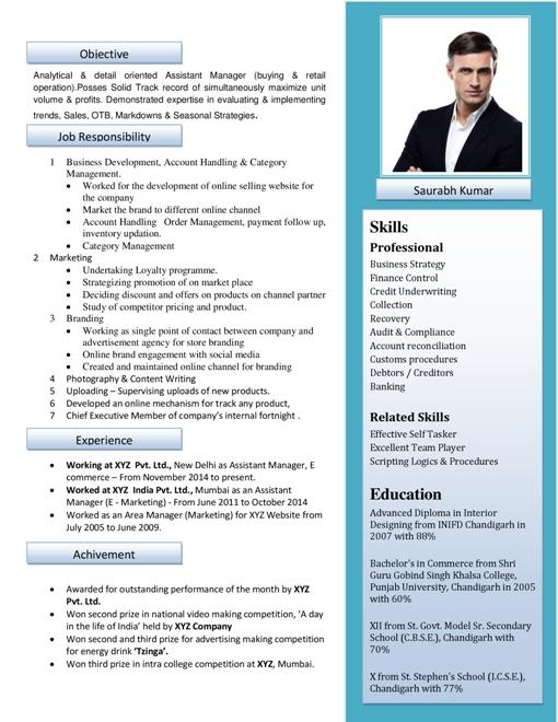 56 Beautiful Ideal Cv Format by Images