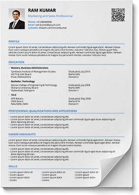 56 Beautiful Interview Resume Format with Gallery