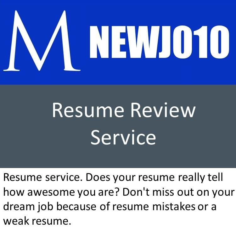 56 Excellent Resume Review Service by Gallery