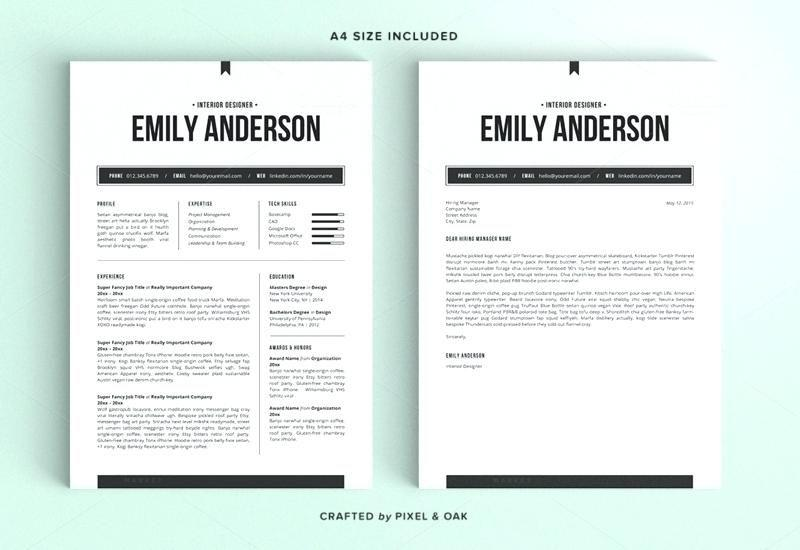 56 Inspirational Resume Template Word Doc Free with Design